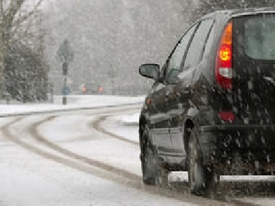 No matter what you drive, be safe while driving on snow covered roads.