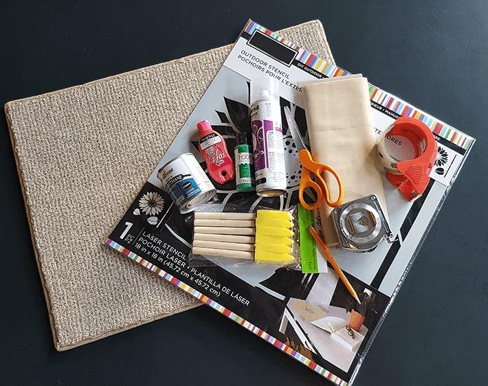 Holiday car floor mat materials