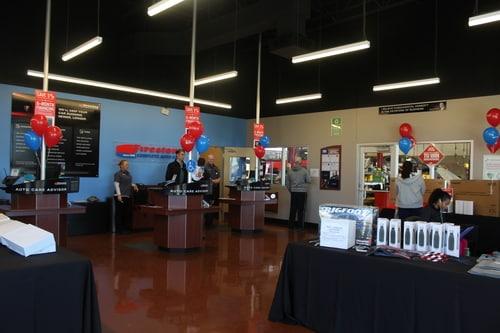 Interior view of Cross Roads, Texas Firestone Complete Auto Care store