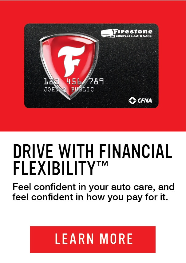 Drive with financial flexibility. Feel confident in your auto care, and feel confident in how you pay for it. Learn more.