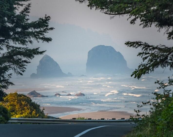 Oregon trail highway
