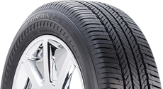 Top half section of a Turanza tire