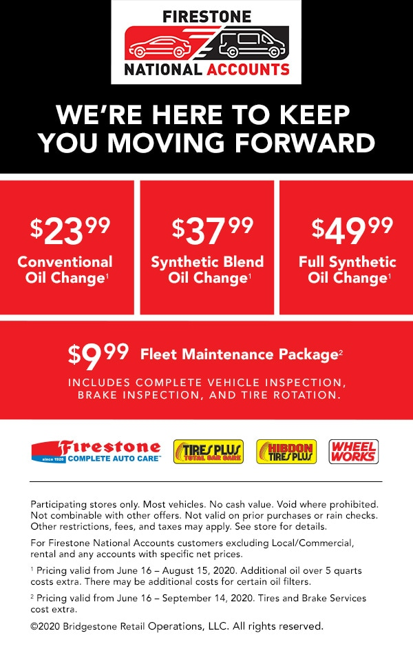firestone national account oil offers